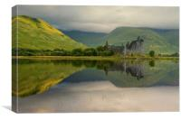 Kilchurn castle, Canvas Print