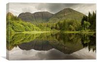 Torren Loch, Canvas Print