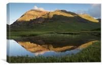 The back of the Buachaille, Canvas Print