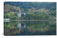 Loch Achray timeshare, Canvas Print