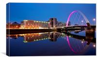 Glasgow Clyde Arc, Canvas Print