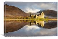 Kilchurn Castle winter, Canvas Print