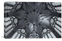 Chapter House B&W, Canvas Print