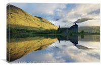 A new day at Kilchurn, Canvas Print