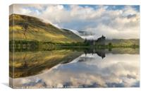 Reflections of Loch Awe, Canvas Print
