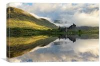Summer at Loch Awe, Canvas Print