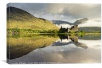 Lit up Kilchurn, Canvas Print