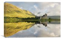 Sunlight at Kilchurn, Canvas Print
