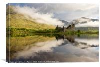 Loch Awesome, Canvas Print