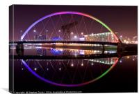 The Glasgow Riverfront, Canvas Print
