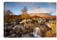 Autumn in Glencoe, Canvas Print