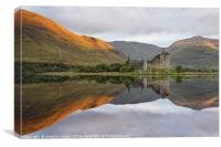 Golden morning at Loch Awe, Canvas Print