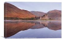 Dawn at Kilchurn Castle, Canvas Print