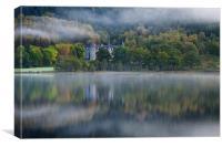 Autumn at Tigh Mor, Canvas Print