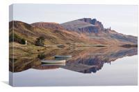 Loch Fada, Canvas Print