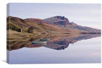 First Light at Old Man of Storr, Canvas Print