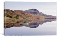 Reflections of the Old Man of Storr, Canvas Print