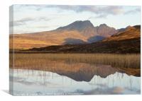 Loch cill chriosd , Canvas Print