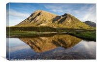 The North Face of the Buachaille, Canvas Print