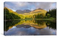 Summer at the Torren Lochan, Canvas Print