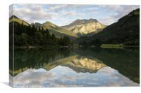 Lac de Vallon, Canvas Print