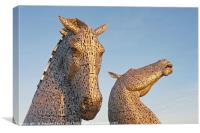 Sunkissed Kelpies, Canvas Print