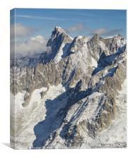 Aiguille du Midi, Canvas Print