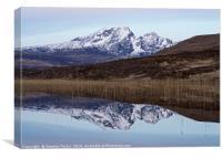Dawn at Loch Cill Chriosd, Canvas Print