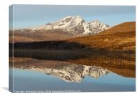 Loch Cill Chriosd, Canvas Print