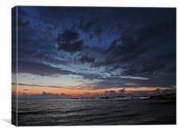 Paphos Sunset, Canvas Print