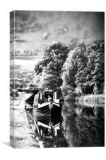 Huddersfield Narrow Canal, Canvas Print