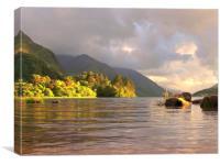 Glenfinnan Loch Shiel , Canvas Print