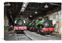 Tanfield Railway, Canvas Print