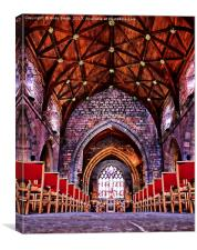 St Asaph Cathedral, Canvas Print