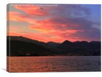 Lake Maggiore          , Canvas Print