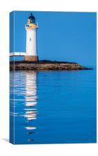 Lighthouse near Tobermory, Mull, Scotland, Canvas Print