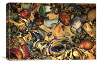 Jazz Shells Two, Canvas Print