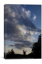 How Hill sky, Canvas Print