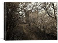 Silent surroundings, Canvas Print