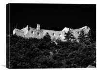 The Forgotten Castle, Canvas Print
