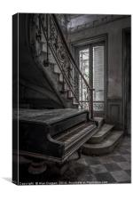Abandoned  Chateau Verdure, Canvas Print