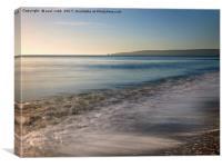 Sea shore., Canvas Print