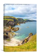 St Abbs Head, Scotland, Canvas Print