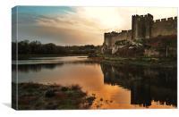 Pembroke Castle, Canvas Print