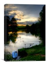 Tranquillity at Sunset, Canvas Print
