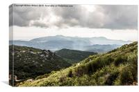 In the Mountains of Corfu, Canvas Print