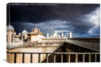 the Roof of The Papal Basilica of St. Peter, Canvas Print