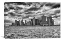 Manhattan., Canvas Print