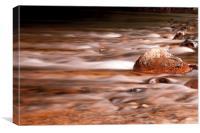 Devon River, Canvas Print