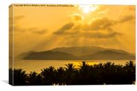 Sunrise View From Hotel, Nha Trang, Canvas Print